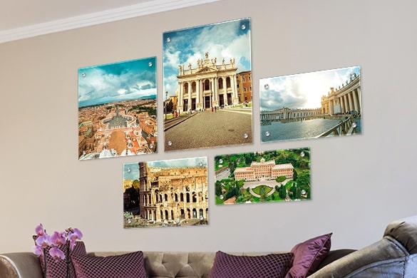 Acrylic Wall Displays